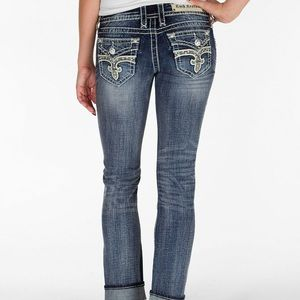 Rock revival Esther cuff straight jeans 26